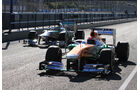 Force India & Mercedes F1 Test Jerez 2013 Highlights