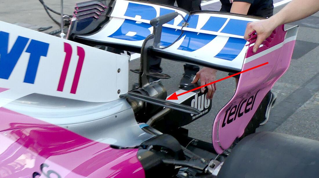 Force India - Technik - GP Monaco 2018