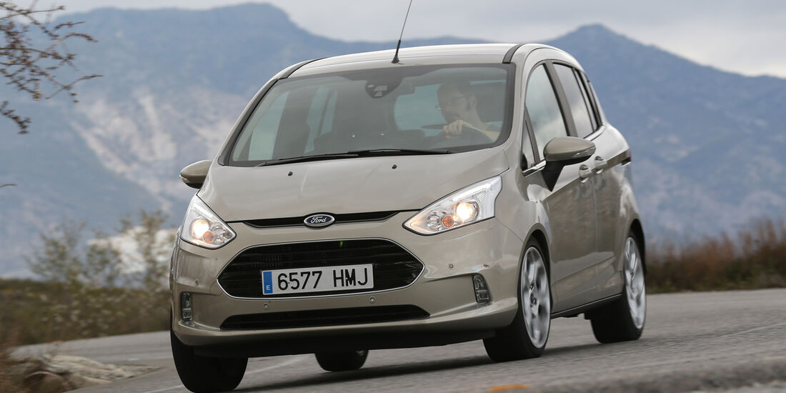 Ford B-Max 1.6 TDCi, Frontansicht
