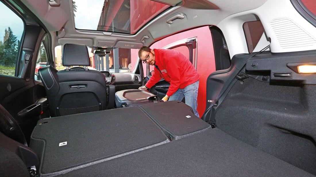 Ford B-Max 1.6 TDCi, Ladefläche, Kofferraum
