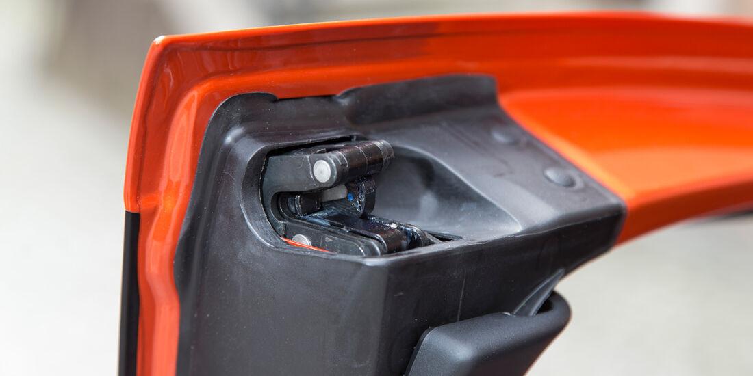 Ford B-Max, Türverschluss