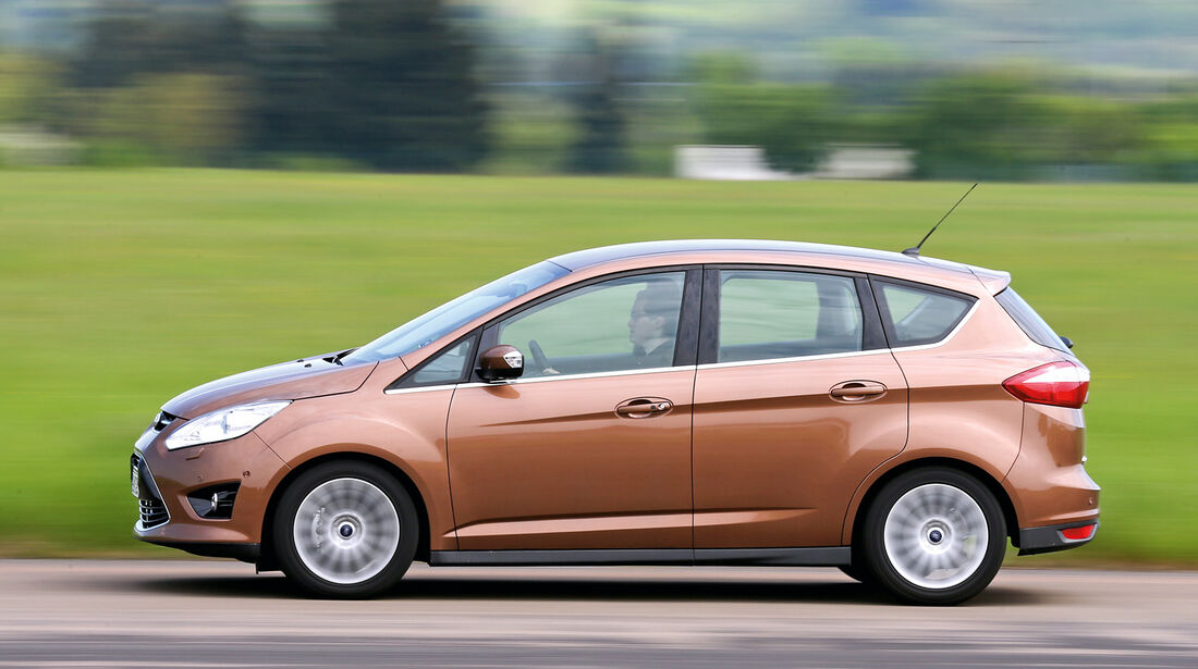 Ford C-MAX 1.0 Ecoboost, Seitenansicht