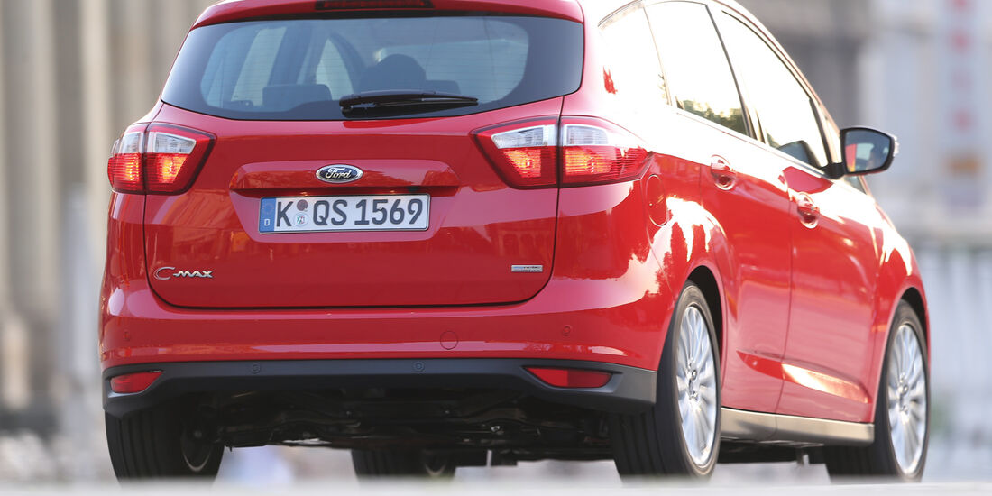 Ford C-Max 1.6 TDCi, Heckansicht