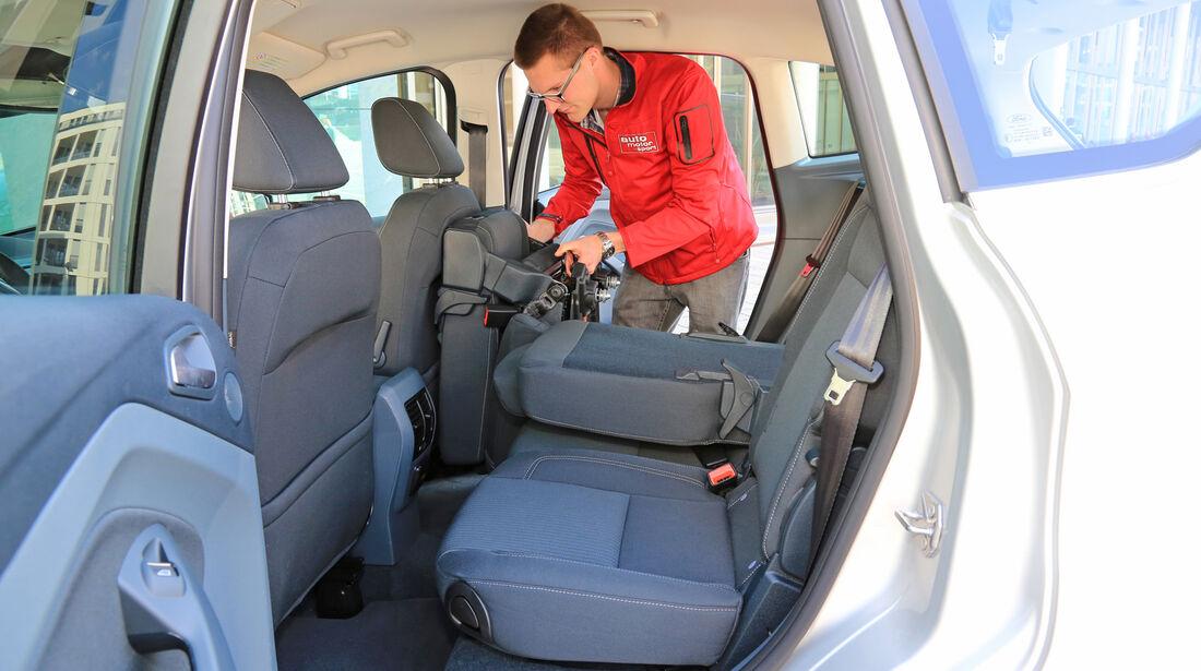 Ford C-Max 2.0 TDCI, Fondsitz, Umklappen