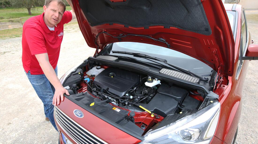 Ford C-Max, Motorhaube