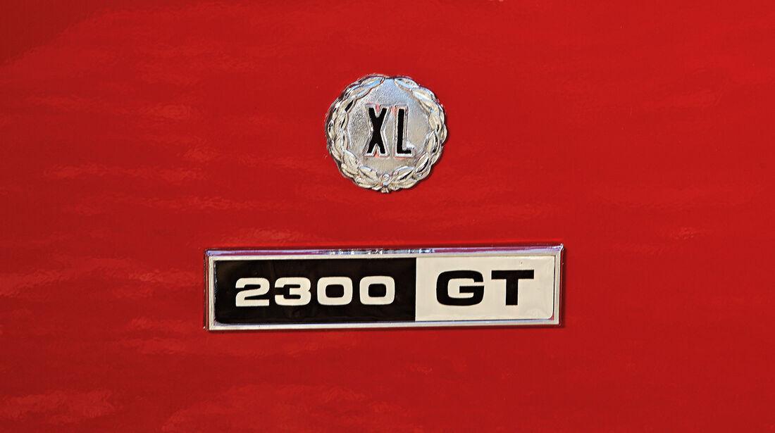 Ford Capri Serie 1, Typenbezeichnung