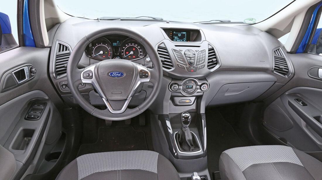 Ford Ecosport 1.0 Ecoboost, Cockpit