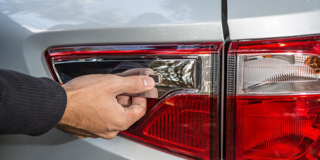 Ford Ecosport 2.0, Heckleuchte