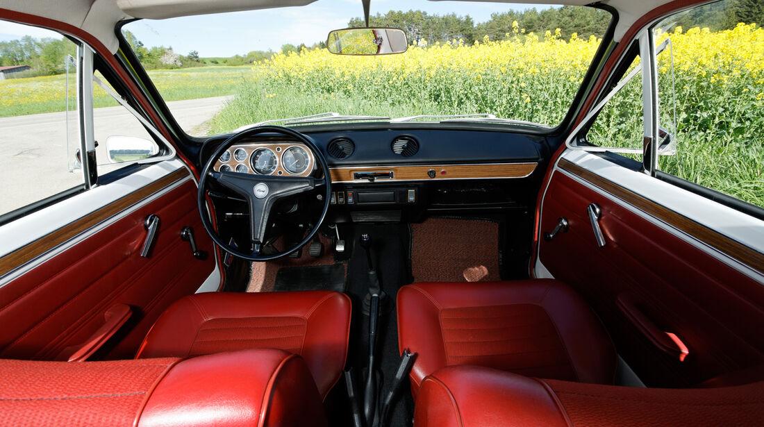 Ford Escort I, Cockpit