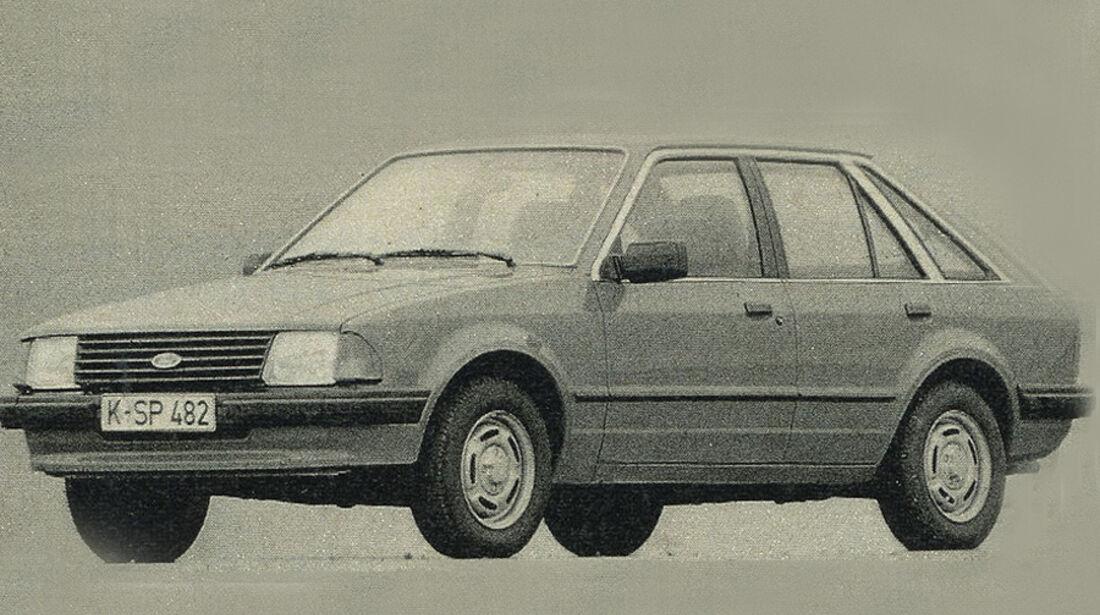 Ford Escort, IAA 1981