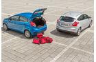 Ford Fiesta 1.0 Ecoboost, Ford Focus 1.0 Ecoboost, Kofferraum