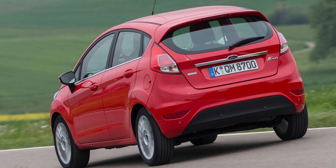 Ford Fiesta 1.0, Heckansicht