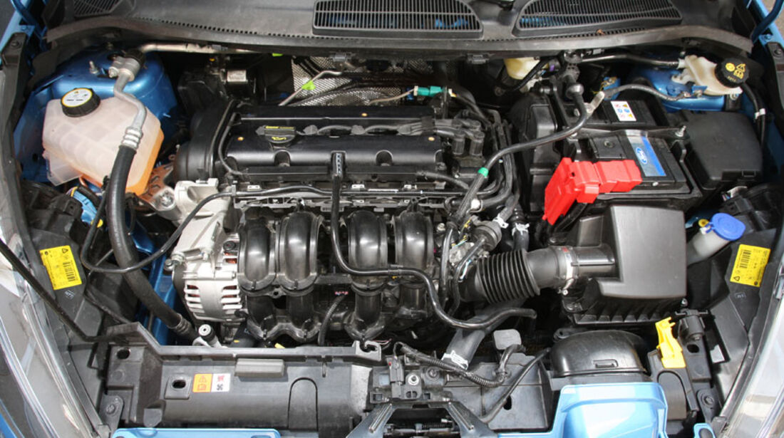Ford Fiesta 1.4, Motor