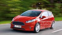 Ford Fiesta Retusche