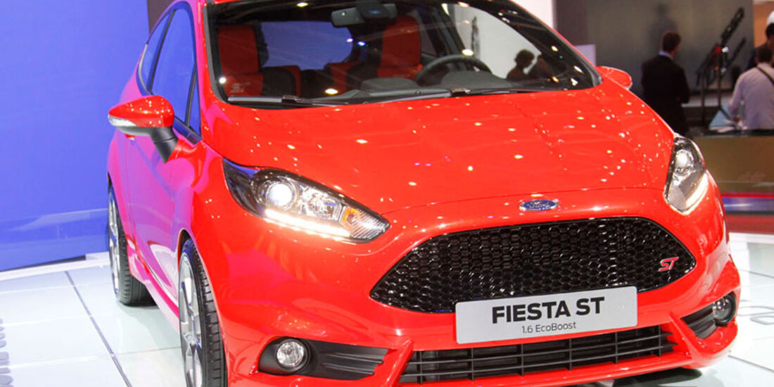 Ford Fiesta ST, Genf 2012