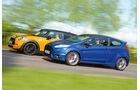 Ford Fiesta ST, Mini Cooper S, Seitenansicht