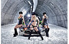 Ford Fiesta WRC, Ken Block, Monster-Girls