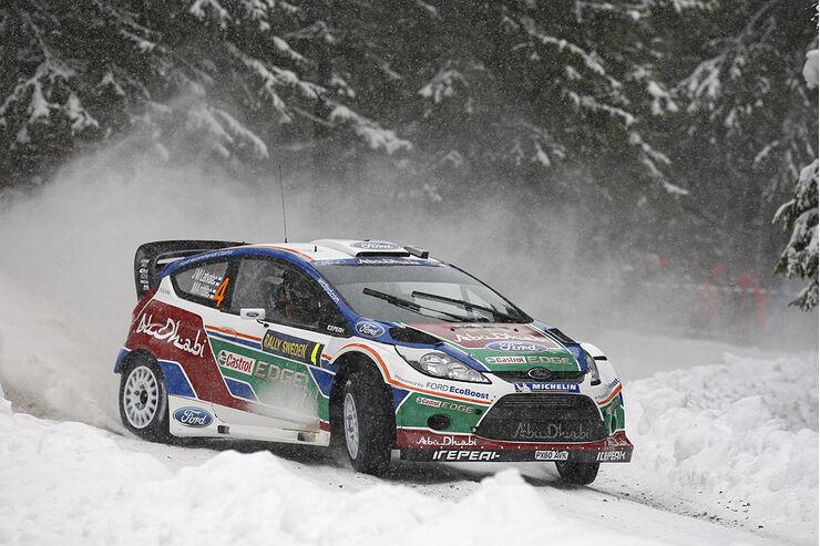 Ford Fiesta WRC, Latvala, Rallye Schweden 2011