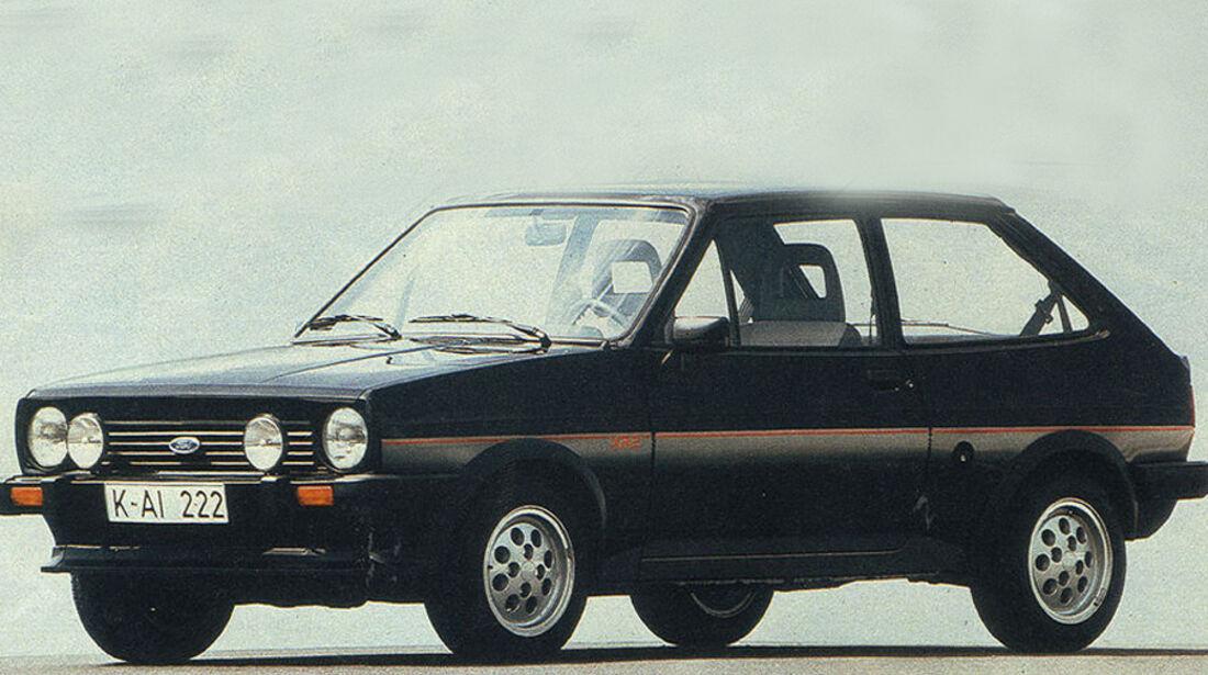 Ford Fiesta XR2, IAA 1981