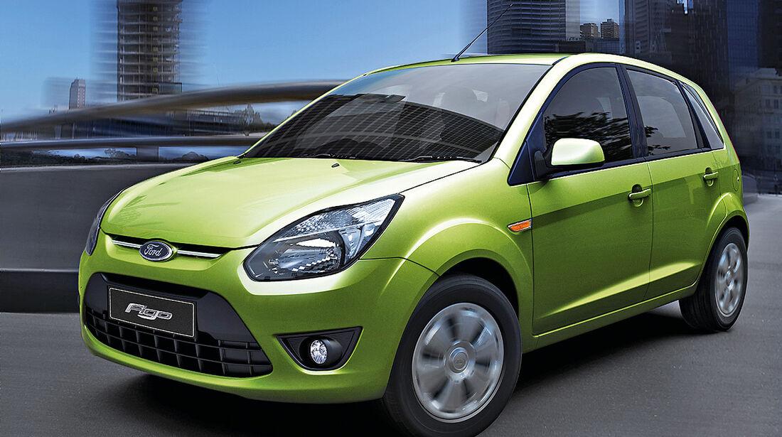 Ford Figo, Indien-Modell