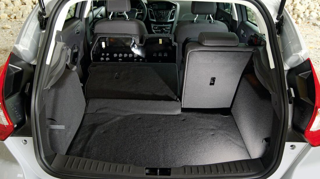 Ford Focus 1.6 ECOBOOST, Kofferraum, Ladefläche