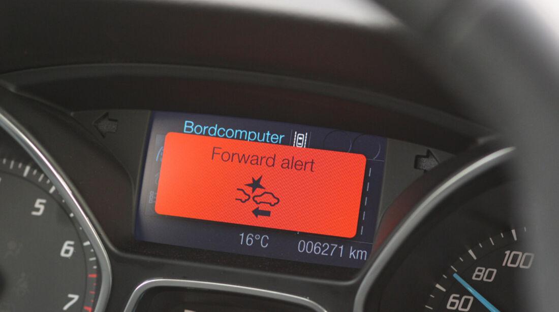 Ford Focus 1.6 Ecoboost, Auffahrwarnung