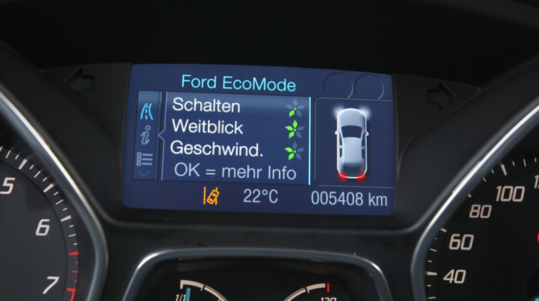 Ford Focus 1.6 Ecoboost, EcoMode