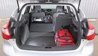 Ford Focus 1.6 Ecoboost Titanium, Rücksitz, Beinfreiheit