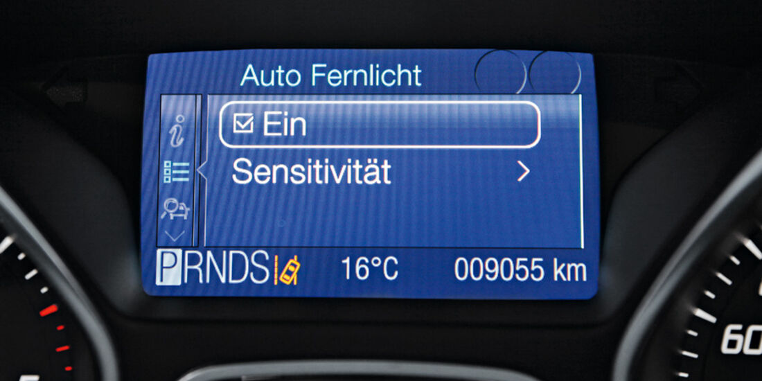 Ford Focus, Display