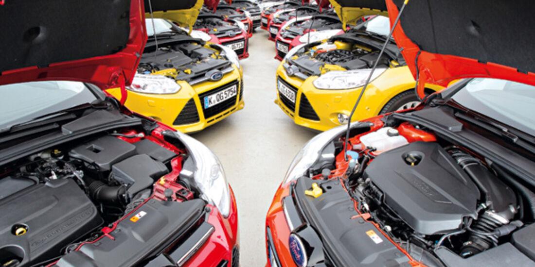Ford Focus, Motoren