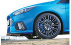 Ford Focus RS (2016), Rad, Felge