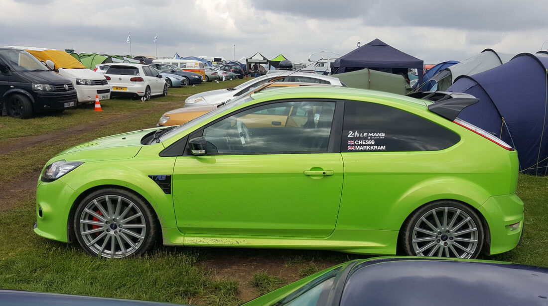 Ford Focus RS - Carspotting - 24h-Rennen Le Mans 2016