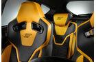 Ford Focus ST 2011, Innenraum, Sitze