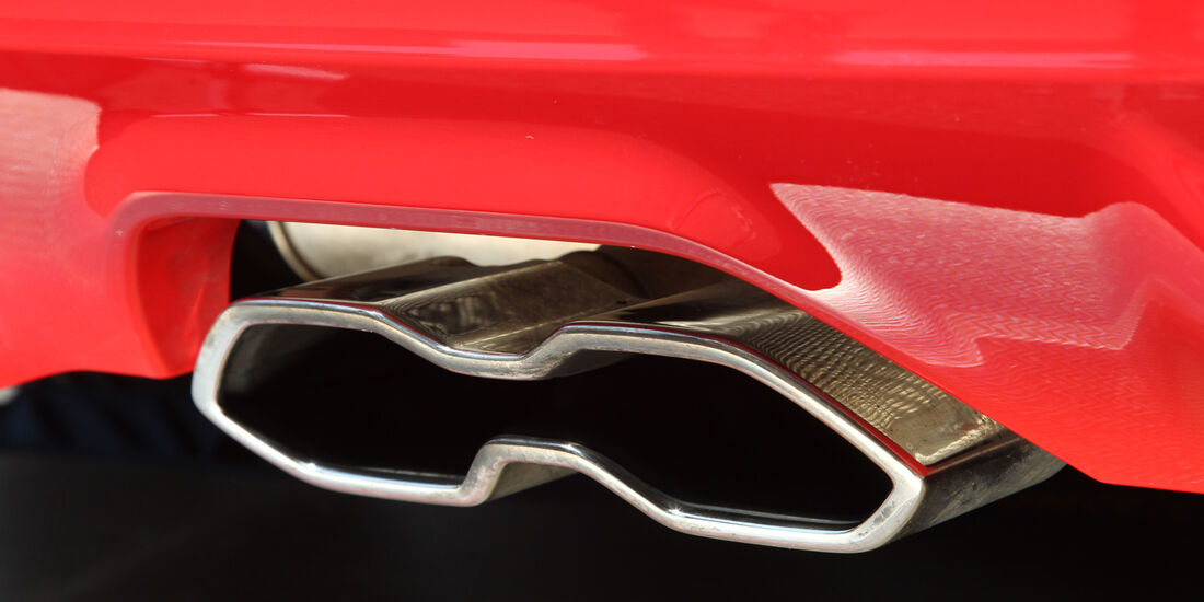 Ford Focus ST, Auspuff, Endrohr