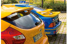 Ford Focus ST, Ford Sierra XR4 Ti, Heckspoiler