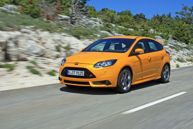 Ford Focus ST, Front
