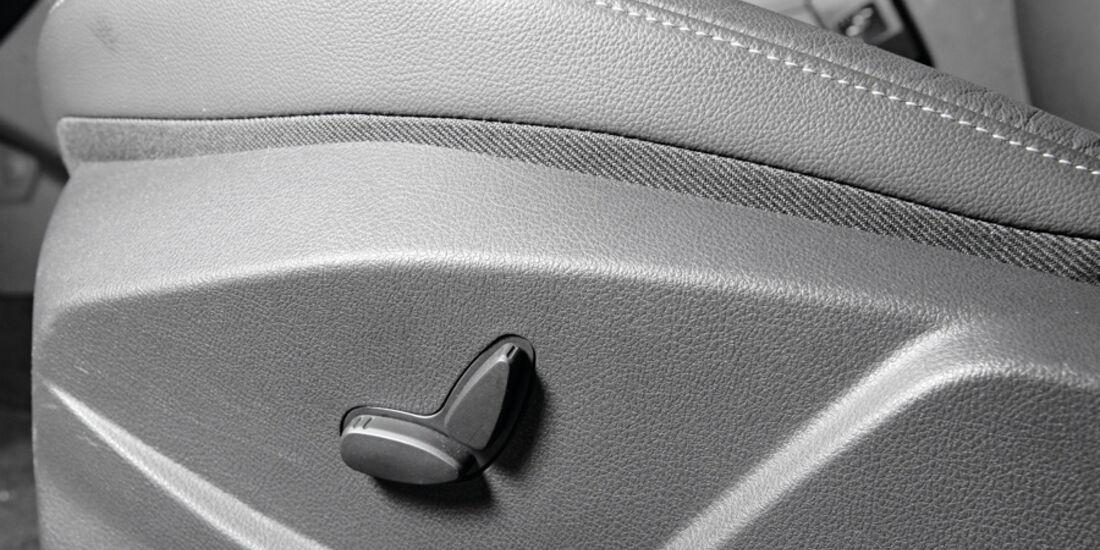 Ford Focus, Sitzverstellung