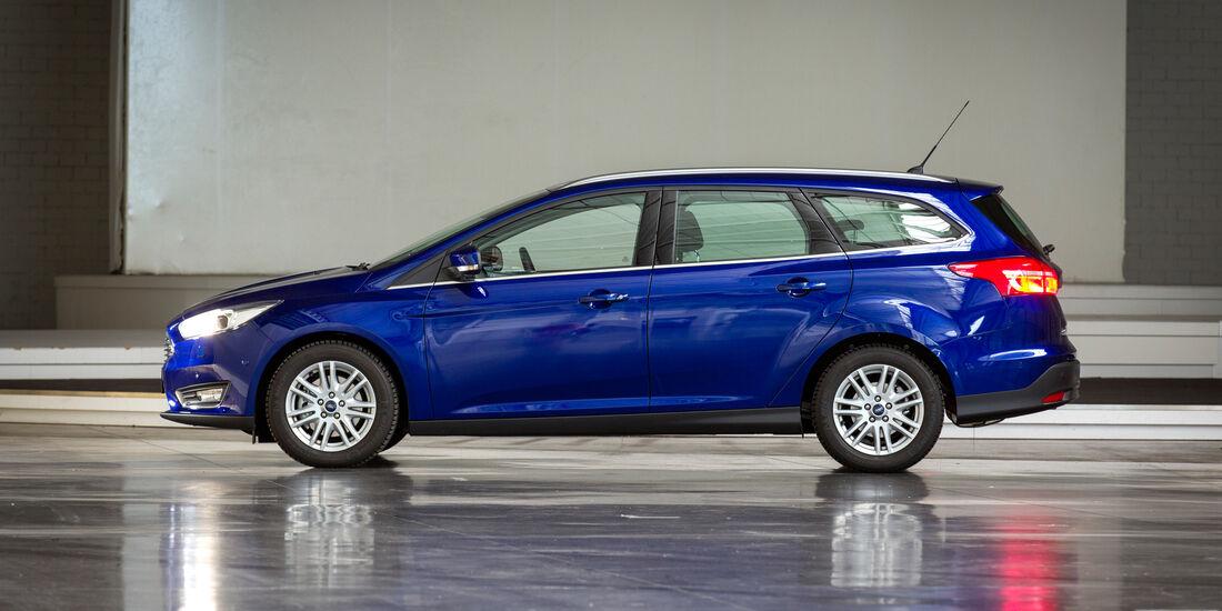 Ford Focus Turnier 1.0 Ecoboost, Seitenansicht