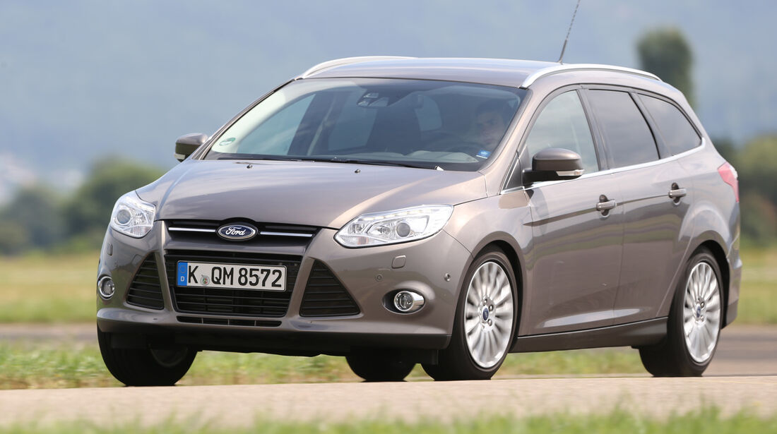Ford Focus Turnier 2.0 TDCi, Frontansicht