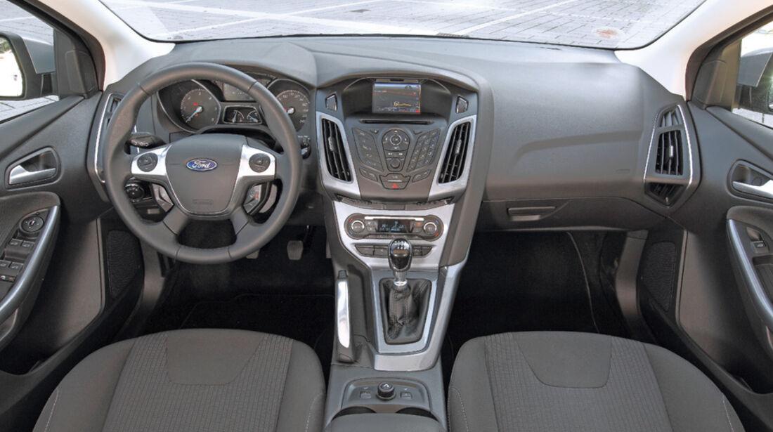 Ford Focus Turnier, Cockpit