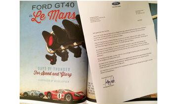 Ford GT, Bewerbung, Buch, Absage