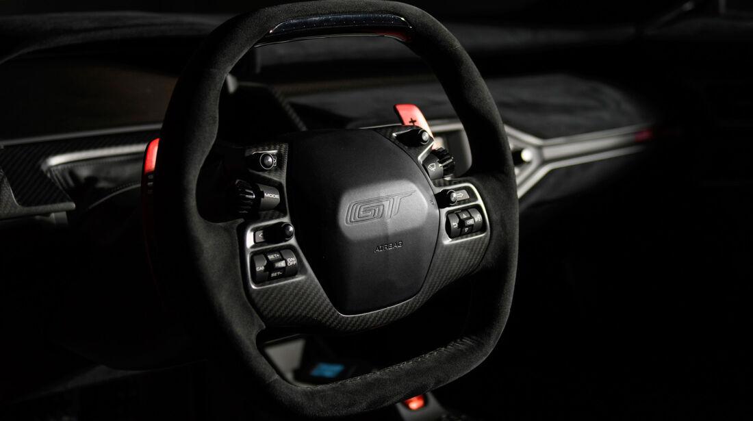 Ford GT - Sportwagen - Lenkrad - Innenraum