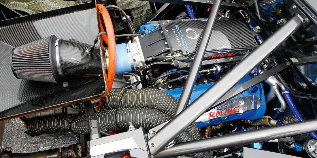 Ford GT3, V8-Motor