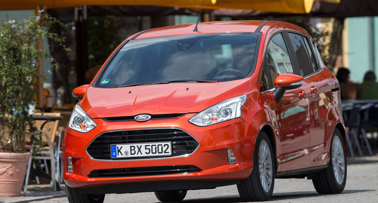 Ford Grand B-Max, Frontansicht