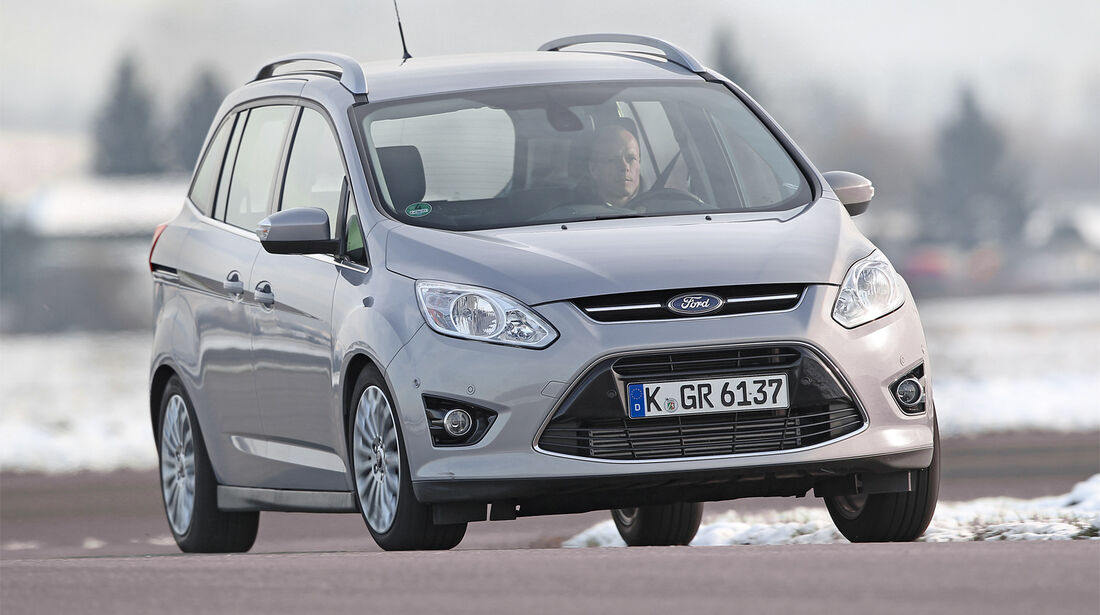 Ford Grand C-Max , Frontansicht