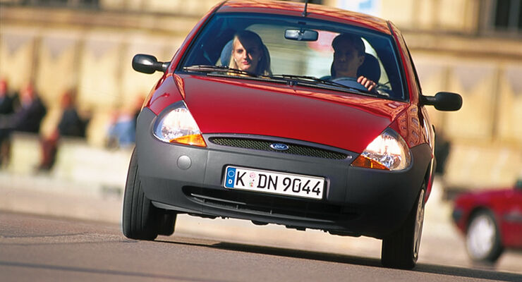 Ford Ka Frontansicht