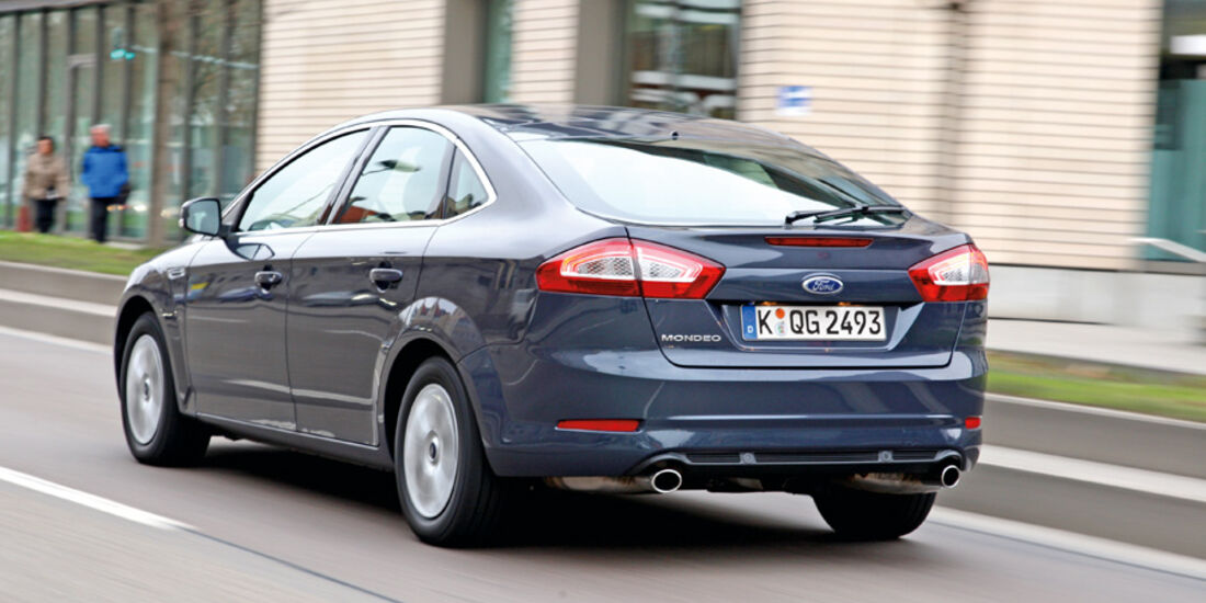 Ford Mondeo, Heck