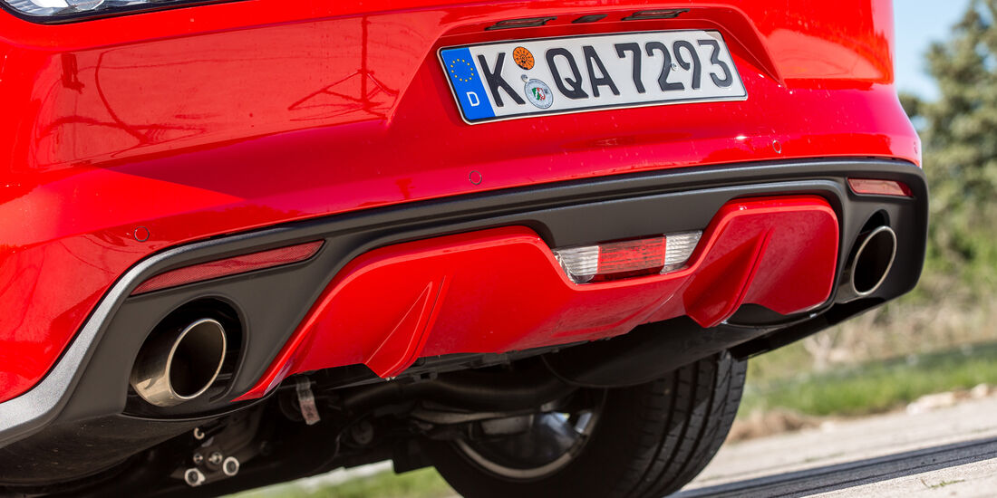 Ford Mustang 5.0 V8, Endrohre
