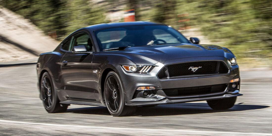 Ford Mustang 5.0 V8, Frontansicht