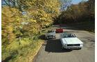 Ford Mustang Convertible, Ferrari Mondial T, Mercedes Benz 500 SL
